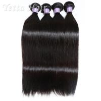 Wholesale 100% Virgin Cambodian Hair Weave Great Lengths / Unprocessed Remy Hair No Lice from china suppliers
