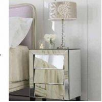 Wholesale Glass Venetian Mirrored Cabinet from china suppliers