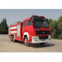 Wholesale SINO TURK double rear bridge 11.5cbm water tank fire truck from china suppliers