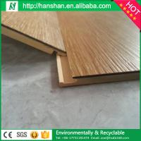 Quality Plastic Flooring Type LVT luxury interlocking vinyl plank floor  tiles for sale