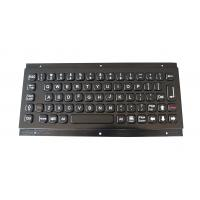 Wholesale Brushed Black Titanium Industrial Metal Keyboard High Vandal Proof Panel Mount from china suppliers
