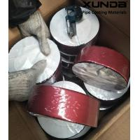 Wholesale Deep red color aluminium foil butyl rubber waterproof sealing tape from china suppliers
