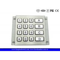 Wholesale Rugged Waterproof Vandalproof Backlit Metal Keypad Stainless Steel Keypad from china suppliers