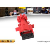 Wholesale Durable Valve Lockout Tagout , Red Universal Gas Valve Lockout Device from china suppliers
