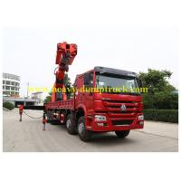 Wholesale Truck Mounted Crane SINOTRUK HOWO 8×4 with D12 engine for dubai from china suppliers