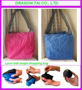 Wholesale Lycra ball shape shopping bag, ball shape shopping bag, lycra  bag from china suppliers