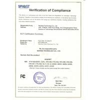 NEWDIGI TECHNOLOGY CO., LIMITED Certifications