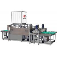 Wholesale PLC automatic Float Sheet Glass Cleaning Equipment And Drying Machine With Heating System from china suppliers