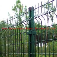 Wholesale Bending Triangular Galvanized Welded Temporary Wire Mesh Fence from china suppliers