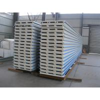 Wholesale PU Insulation Sandwich Panel 950mm , Corrugated Steel Roof Panel from china suppliers