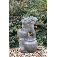 Wholesale Faux Stakes & Jars Outdoor Tiered Water Fountains For Garden / Aquaria from china suppliers