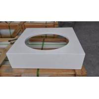 Wholesale Custom Artificial Quartz Vanity Tops Eased Edge 20mm 25mm Thickness from china suppliers