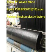Quality plastic ground cover geotextile anti uv woven/agricultural mulch film 100% virgin for sale