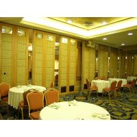 Wholesale Sound Insulation Fabric Leather Movable Partition Door / Foldable Room Divider from china suppliers