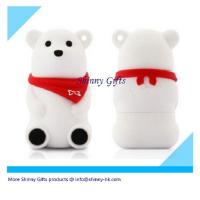 Buy cheap polar bear usb for Christmas gifts  from wholesalers