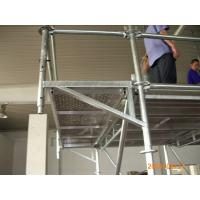 Wholesale Steel Ring Lock scaffolding System / Assembly Scaffold with Flexible structure system from china suppliers