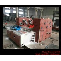 Quality Automatic H Beam Assembling Welding Straightening Line for H Beam Making for sale