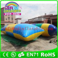 Wholesale Blob Jump Water Toys,Water Blob Jumping Bag Inflatable Aqua Trampoline from china suppliers