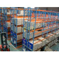 Wholesale Narrow Aisle Pallet Style Steel Warehouse Storage Racks / Adjustable Selective Rack from china suppliers