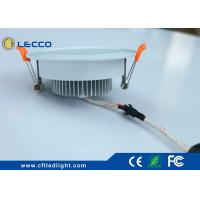 Quality High Efficiency SMD 5730 LED Recessed Downlight For Bathroom / Office CRI > 80 for sale