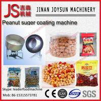 Quality Multi-Function Peanut Coating Machine Wrapped And Smoothly for sale