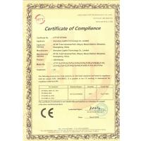 Shenzhen Lightin Technology Co ,.Ltd Certifications