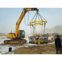 Wholesale Super Hydraulic Pile Breaker Cut Round Piles , Concrete Pile Cutting Machine from china suppliers