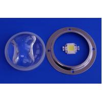 Wholesale Glass led light Lens / LED Street light Lens with silicon gasket For 30Watt Leds from china suppliers
