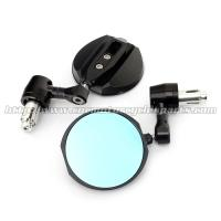 Wholesale CNC Aluminum Motorcycle Rear View Mirrors / Handle Bar End Mirror 2 X 10mm / 2 X 8mm Bolts from china suppliers