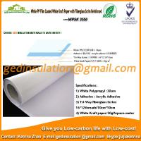 Wholesale White PP film coated White kraft paper with fiberglass scrim reinforced from china suppliers