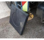anti-slip crane outrigger pad crane foot support plate hdpe portable crane mat