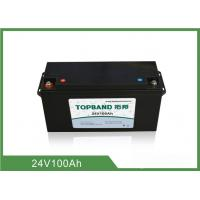 Wholesale 24V 100AH Lithium Iron Phosphate Deep Cycle Battery from china suppliers