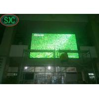 Buy cheap Iron and steel water-proof cabinet outdoor usage P10 RGB LED display 960x960mm cabinet  3 years warranty from wholesalers