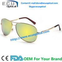 Wholesale Wholesale 2014 Latest Man and Women Polarized Aviator Mirror Sunglasses from china suppliers