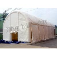 Wholesale Puncture - Proof Inflatable Clear Tent Made With 0.9mm PVC Tarpaulin , 12.7mL*5.7mW*3.07mH from china suppliers
