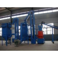 Quality Empty Fruit Bunch EFB pellet making line project with 1T/H~5T/H capacity for sale