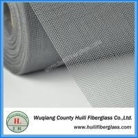 Quality Gray 1.5m wide fire resistant residential fiberglass screen roll for sale