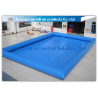 Wholesale 12 * 10m Summer Large Inflatable Swimming Pool For Adults Customized from china suppliers