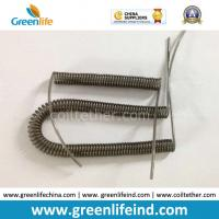 Wholesale Safety Tool Need Stretch Transparent Black Wire Spring Coil Lanyard Tethers w/Custom Size from china suppliers