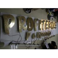 Quality Stainless Steel Back Lit LED Channel Letters With Hight Bright Lighting for sale