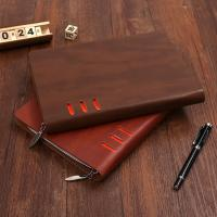 Buy cheap low price leather diary notebook organizer portfolio / office leather a5 organizer / brand from wholesalers