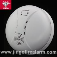 China Fire alarm battery powered smoke detector with buzzer alarm on sale