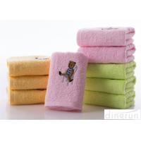 Wholesale Soft Touch Solid Color Face Wash Towel With Embroidery Logo 34*74cm from china suppliers