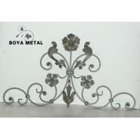 Quality Decorative Wrought Iron Fence Panels for sale