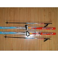 Kids Crosscountry ski sets with Kaby ski bindings, ski poles