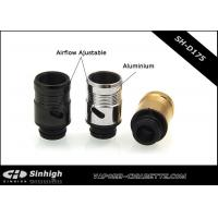 Quality Aluminium / Delrin 510 Drip Tips Airflow Control Drip Tips for sale