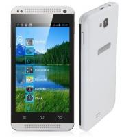 Wholesale C9600 Smartphone Android 4.0 SC6820 1.0GHz 4.0 Inch WiFi FM -White & Blue Students elderly from china suppliers