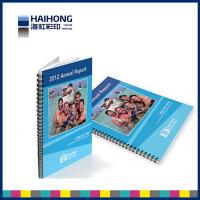 Wholesale A4 Spiral Bound Book Printing  glossy surface finish with 350gsm coated art paper from china suppliers