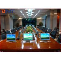 Quality Stainless Steel LCD Computer Screen Lift For Financial Analyzing System for sale