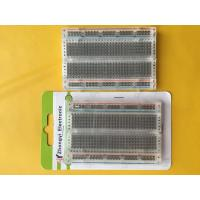 Wholesale 400 Points Transparent Round Hole Solderless Breadboard from china suppliers